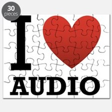 I Love Audio Puzzle