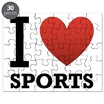 I Love Sports Puzzle