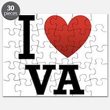 I Love Virginia Puzzle