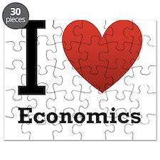 I Love Economics Puzzle