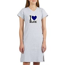 I <3 Blue Women's Nightshirt