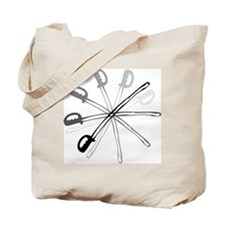Spinning Sabre Tote Bag