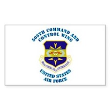 505th Cmd and Ctrl Wing with Text Decal