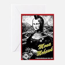 Mona Mohawk Greeting Cards (Pk of 10)