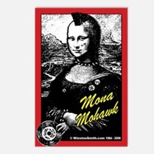 Mona Mohawk Postcards (Package of 8)