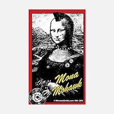 Mona Mohawk Rectangle Decal