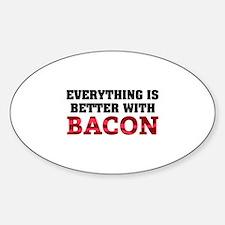 Bacon Sticker (Oval)
