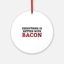 Bacon Ornament (Round)