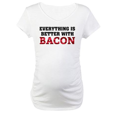 Bacon Maternity T-Shirt