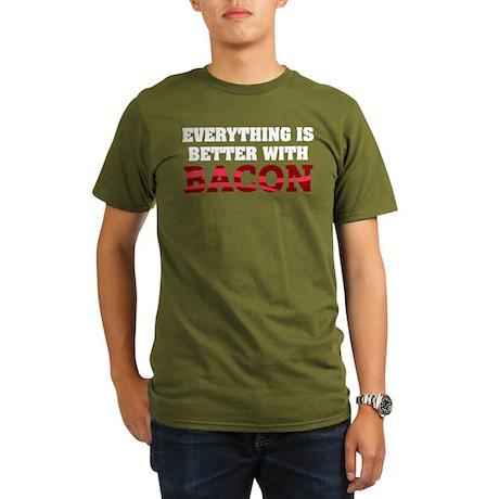 Bacon Organic Men's T-Shirt (dark)