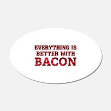 Bacon 22x14 Oval Wall Peel