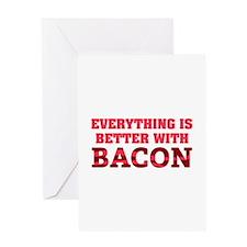 Bacon Greeting Card
