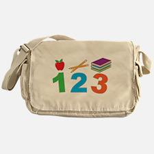 School 123 Messenger Bag
