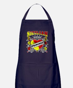 Sicilian Princess Apron (dark)