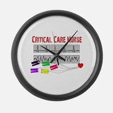 Critical Care Nurse Large Wall Clock