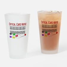 Critical Care Nurse Drinking Glass