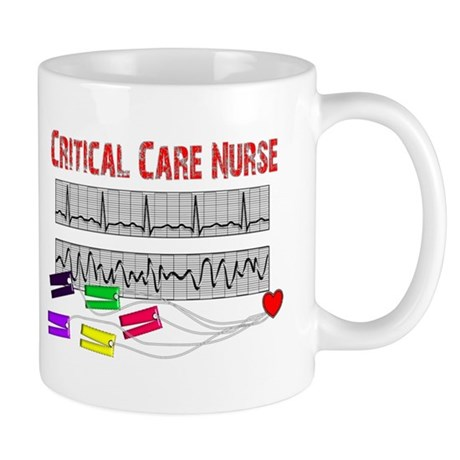 Critical Care Nurse Mug
