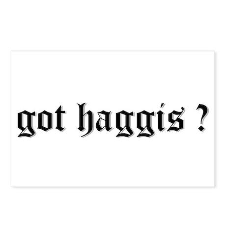 got haggis ? Postcards (Package of 8)
