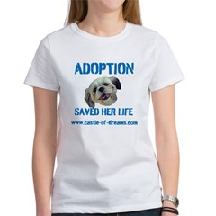 Adoption Saved Her Life Tee