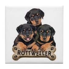 its a puppy thing! Tile Coaster