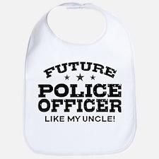 Future Police Officer Bib
