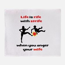 Romantic Comedy II Throw Blanket