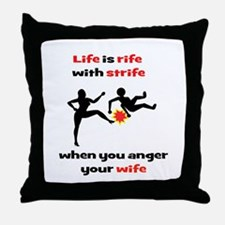 Romantic Comedy II Throw Pillow