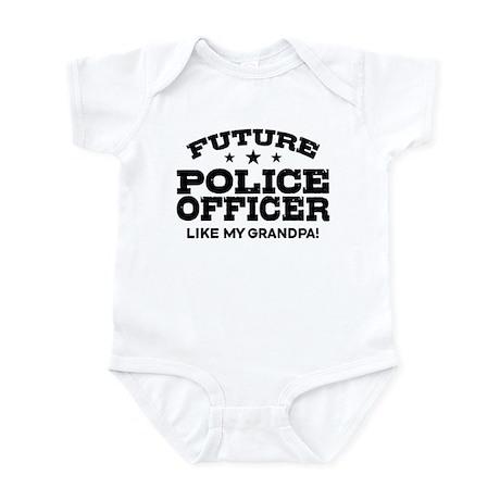 Future Police Officer Infant Bodysuit