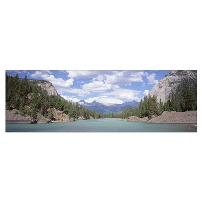 Bow River Banff National Park Alberta Canada Poster