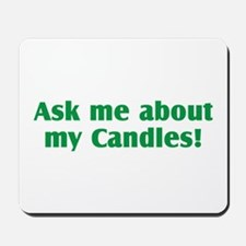 Candles Mousepad