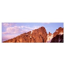 Disappointment Peak Red Sentinel Pinnacle Grand Te Poster