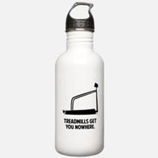 Treadmills Get You Nowhere Water Bottle