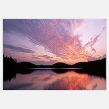 Sunset Lake Colby Saranac Lake NY
