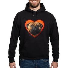 Valentine's Bullmastiff Hoody