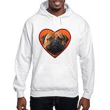 Valentine's Bullmastiff Jumper Hoody