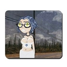 Germaine In Blue Mousepad