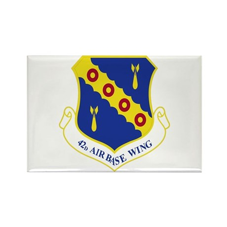 42nd Air Base Wing Rectangle Magnet (100 pack)