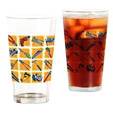 Tools Pattern. Drinking Glass