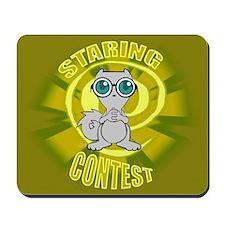 Staring Contest : Pilz-E Mousepad