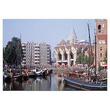 Old Harbor Rotterdam Netherlands