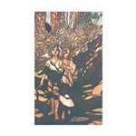 Charles Robinson's Hansel & Gretel Sticker (Rectan