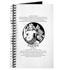 Dagon with Paradise Lost text Journal