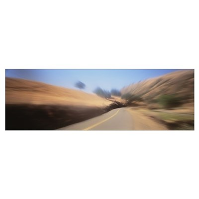 Motion Road Stanislaus County CA Poster