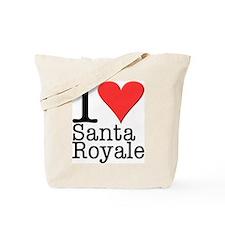 Santa Royale Tote Bag