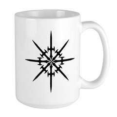 DEATH DAGGER #3 Large Mug
