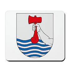 Torshavn Coat of Arms Mousepad