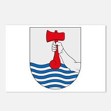 Torshavn Coat of Arms Postcards (Package of 8)