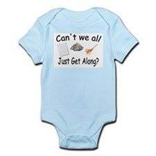 Paper, Rock, Scissors Infant Bodysuit