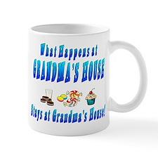 What Happens At Grandma's House Mug