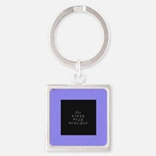 Unique Polyamory Square Keychain